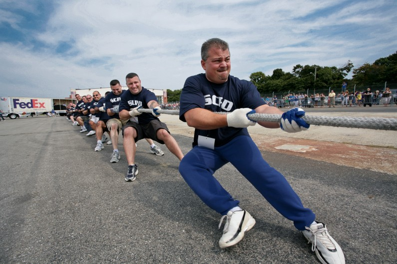 Federal Express Corporate Challenge Tug-of-War.