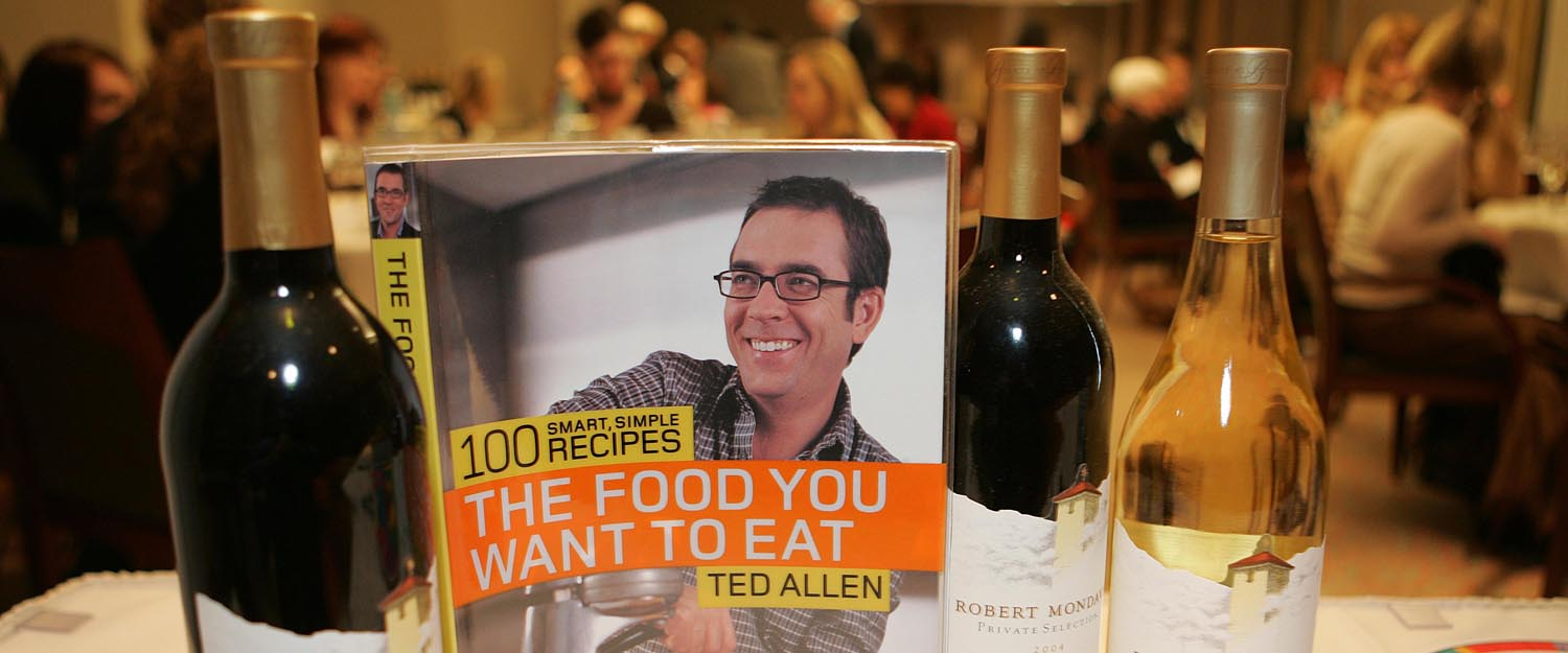 Winesense for an evening with ted allen of queer eye for the winesense for an evening with ted allen of queer eye for the straight guy on bravo for an essence tasting of robert mondavi private selection and a book forumfinder Gallery