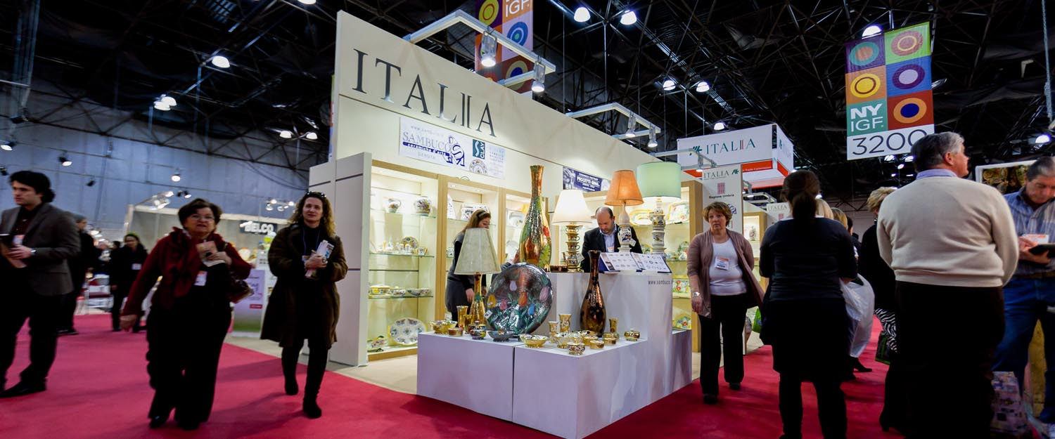 Italian Trade Commision and Regione Umbria Exhibit New York International Gift Fair