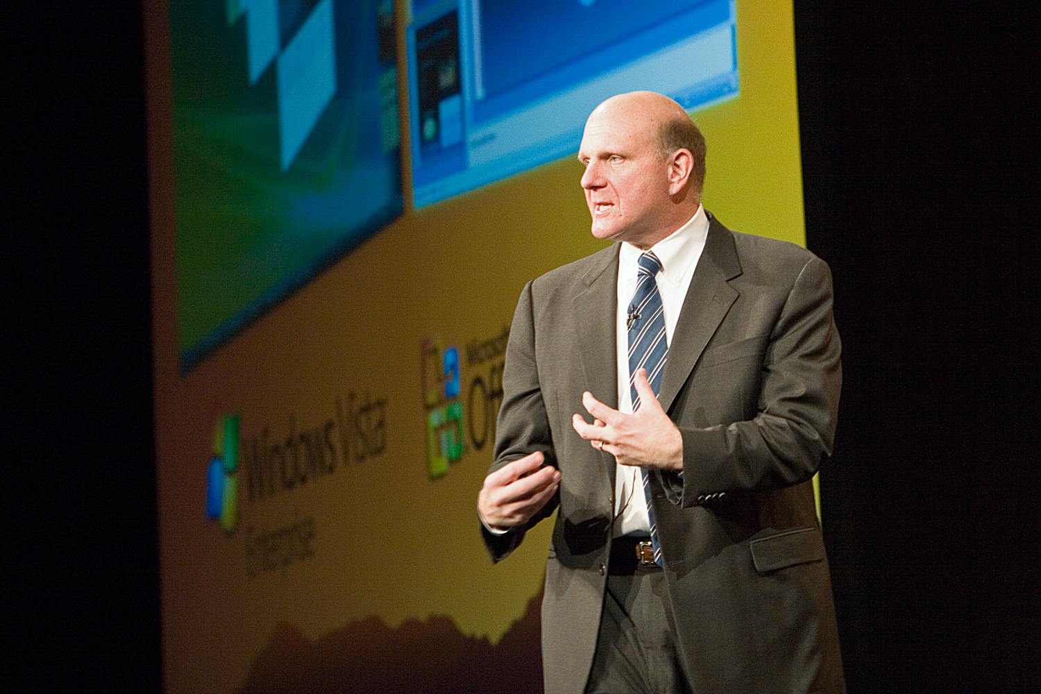 Michael Balmer during Microsoft Vista Launch.